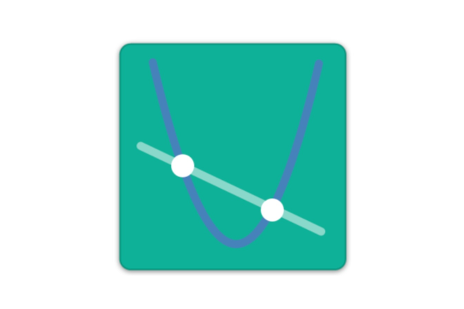 Graphing challenge logo. Screenshot.