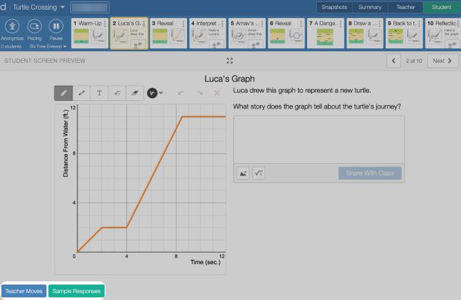 Teacher Tips from the teacher dashboard. Screenshot.