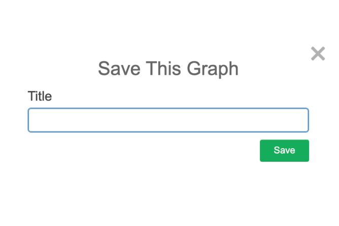 Pop Up Window To Name A Graph. Screenshot.
