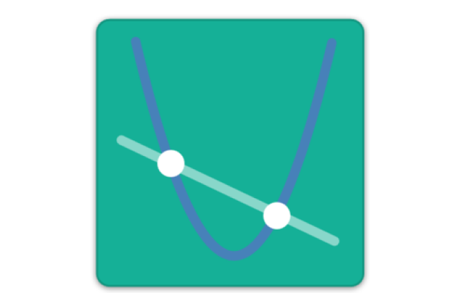 Graphing Challenges Logo.  Screenshot.